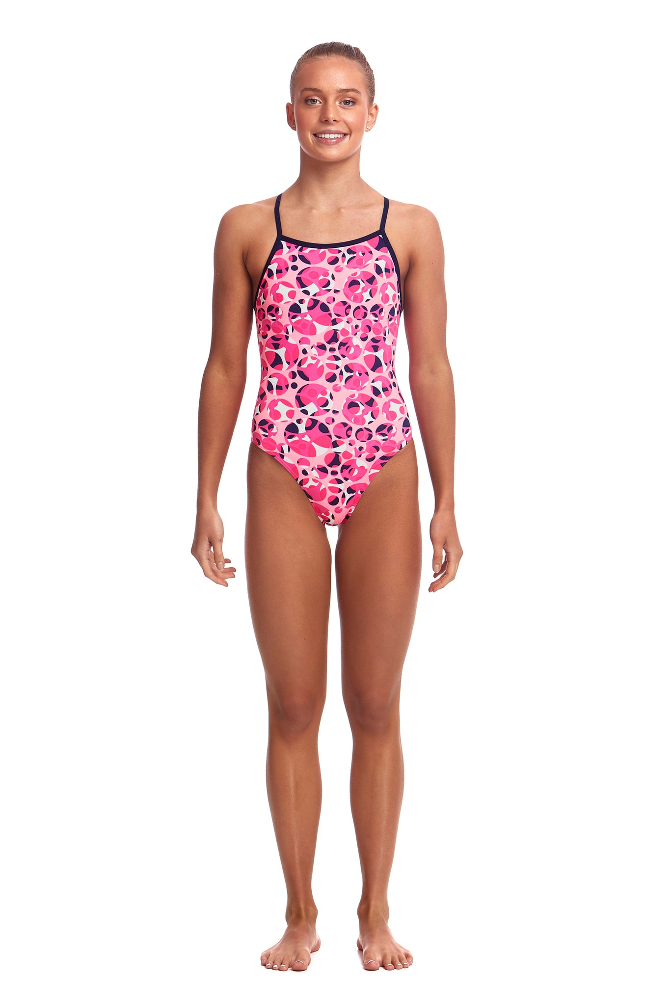 Funkita Girls Tie Me Tight One Piece Bliss Dish