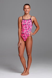 Funkita Girls Tie Me Tight One Piece<br/>Bliss Dish
