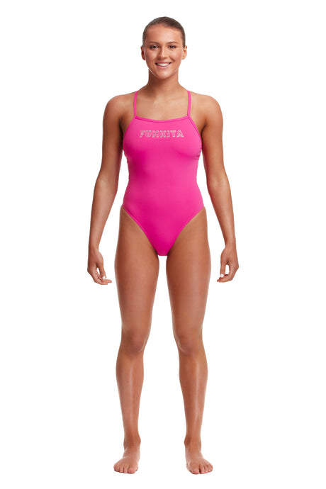 Funkita Ladies Tie Me Tight One Piece<br/>Candy