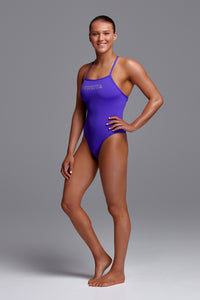 Funkita Ladies Tie Me Tight One Piece<br/>Crush