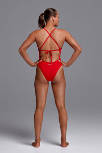 Funkita Ladies Tie Me Tight One Piece<br/>Fire