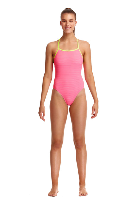 NEW! Funkita Ladies Tie Me Tight One Piece<br/>French Plait