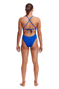 Funkita Ladies Tie Me Tight One Piece<br/>Ice