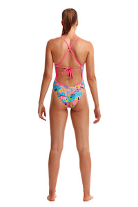 NEW! Funkita Ladies Tie Me Tight One Piece<br/>Just Desserts