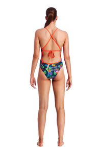 Funkita Ladies Tie Me Tight One Piece<br/>Tropic Tag