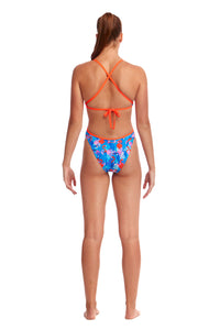 LAST ONE! Funkita Ladies Cut Away One Piece<br/>Flaming Vegas