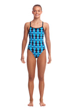 LAST ONE! Funkita Girls Eco Single Strap One Piece<br/>Dive Master