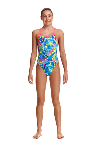 NEW! Funkita Girls Eco Single Strap One Piece Poptail