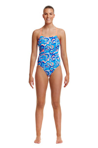 Funkita Ladies Eco Single Strap One Piece<br/>Double Scoop