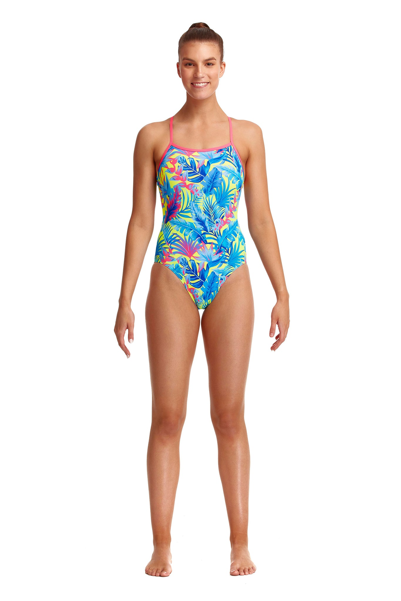 NEW! Funkita Ladies Eco Single Strap One Piece Poptail