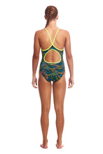 Funkita Girls Eco Diamond Back One Piece<br/>Colour Run