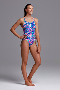 Funkita Ladies Eco Diamond Back One Piece<br/>Ice Cream Queen