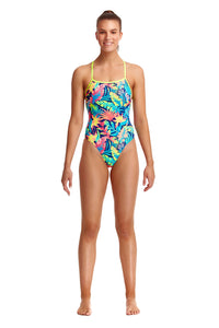 NEW! Funkita Ladies Eco Strapped In One Piece<br/>Palm Off