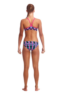 Funkita Girls Eco Racerback Two Piece<br/>Fairy Flight