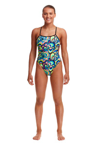 Funkita Ladies Eco Twisted One Piece<br/>Gelat OMG