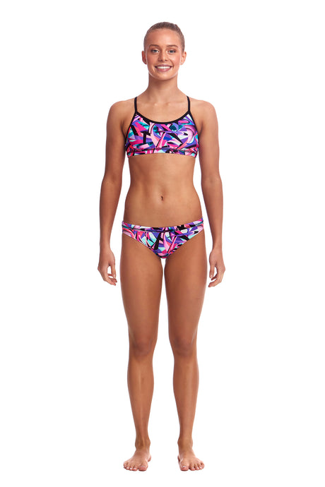 Funkita Girls Racerback Two Piece<br/>Limitless