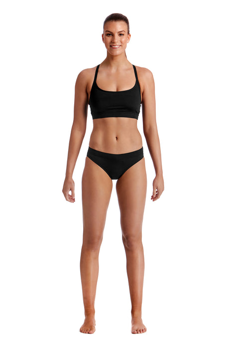 Funkita Ladies Sports Brief<br/>Still Black