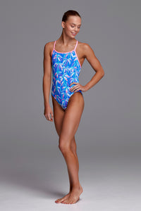 NEW! Funkita Girls Diamond Back One Piece<br/>BooBam Blue