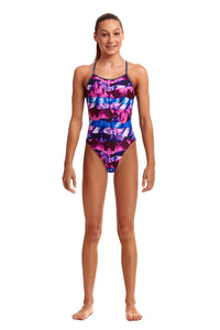 NEW! Funkita Girls Diamond Back One Piece<br/>Ice Pack
