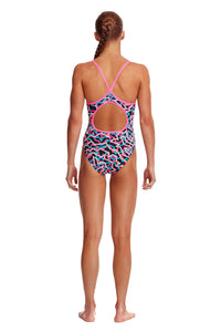 NEW! Funkita Girls Diamond Back One Piece<br/>Live Streamer