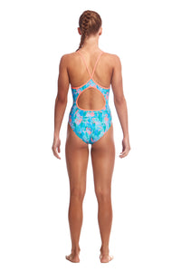 Funkita Girls Diamond Back One Piece<br/>Pastel Paradise