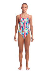 Funkita Girls Diamond Back One Piece<br/>Slapped On