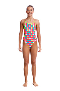 LAST ONE! Funkita Girls Diamond Back One Piece<br/>Twister