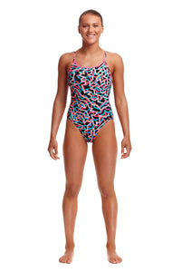 Funkita Ladies Diamond Back One Piece<br/>Live Streamer