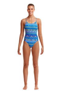 NEW! Funkita Ladies Diamond Back One Piece<br/>My Tribe