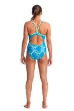 LAST ONE! Funkita Ladies Diamond Back One Piece<br/>Thirsty Cow
