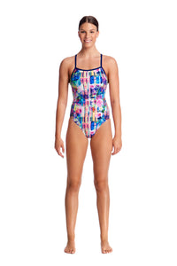Funkita Ladies Single Strap One Piece<br/>Alba Wild