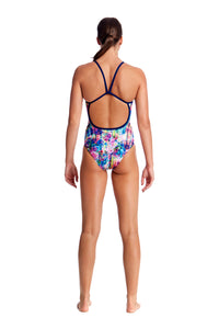 LAST ONE! Funkita Ladies Single Strap One Piece<br/>Alba Wild