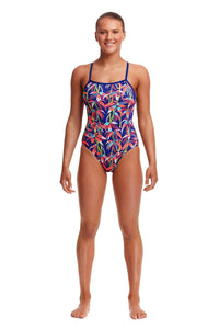 Funkita Ladies Single Strap One Piece<br/>BamBamBoo