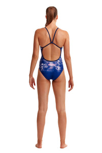 Funkita Ladies Single Strap One Piece<br/>Falling Water
