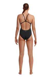 Funkita Ladies Single Strap One Piece<br/>Leather Skin