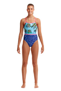 NEW! Funkita Ladies Single Strap One Piece<br/>Lunchtime Dip
