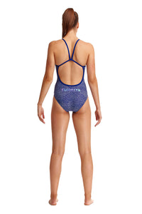 NEW! Funkita Ladies Single Strap One Piece<br/>Snake It Off