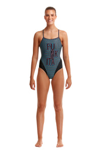 NEW! Funkita Ladies Single Strap One Piece<br/>Use Your Illusion
