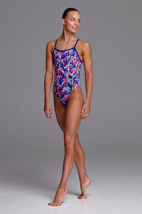 NEW! Funkita Girls Single Strap One Piece<br/>BamBamBoo