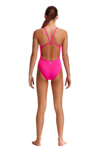 NEW! Funkita Girls Single Strap One Piece<br/>Candy