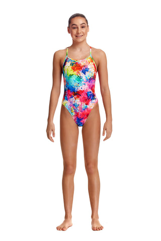 NEW! Funkita Girls Single Strap One Piece Dye Another Day