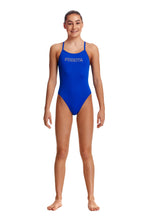 NEW! Funkita Girls Single Strap One Piece<br/>Ice