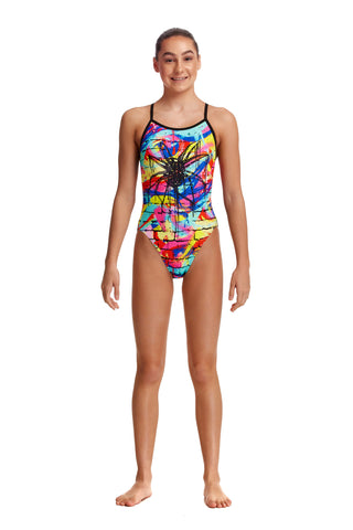 NEW! Funkita Girls Single Strap One Piece Incy Wincy