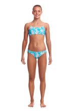 Funkita Girls Criss Cross Two Piece<br/>Pastel Paradise