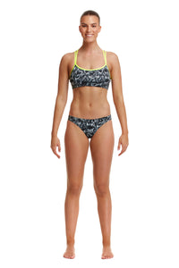 NEW! Funkita Ladies Criss Cross Top<br/>Night Howler