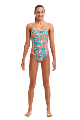 NEW! Funkita Girls Strapped In One Piece Burning Man