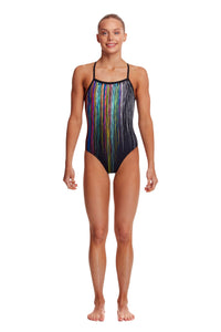 NEW! Funkita Girls Strapped In One Piece<br/>Drip Funk