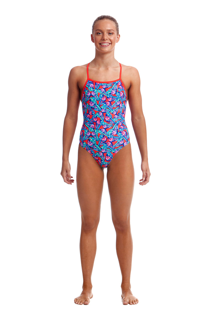 Funkita Girls Strapped In One Piece<br/>Fly Free