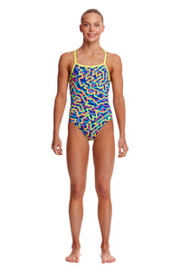 Funkita Girls Strapped In One Piece<br/>Noodle Bar