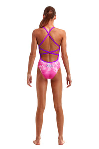 NEW! Funkita Girls Strapped In One Piece<br/>Perfect Paradise